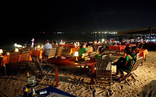 Bali Jimbaran Bay Sunset Seafood Dinner