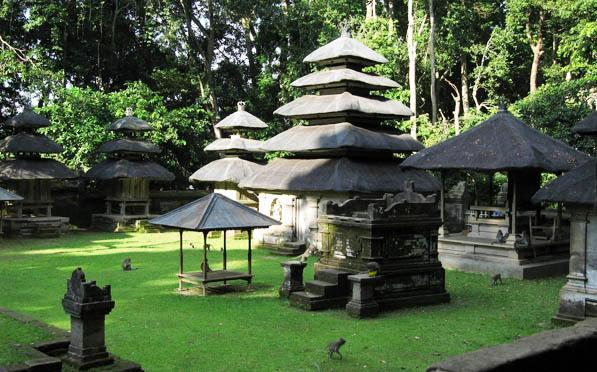 Alas Kedaton Temple Monkey Forest Bali