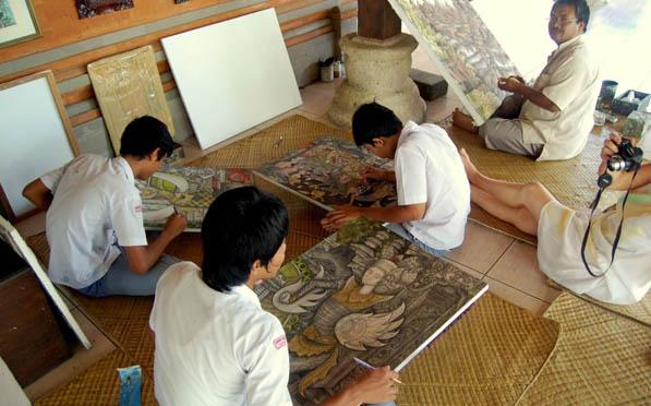 Bali Art Painting Batuan Village
