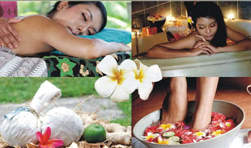activities massages and spas.