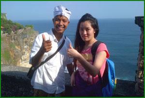 Bali tour guide, bali taxi, water blow beach, nusadua picture of.
